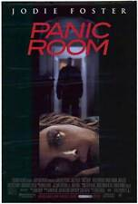 PANIC ROOM Movie POSTER 27x40 Jodie Foster Forest Whitaker Dwight Yoakam Jared
