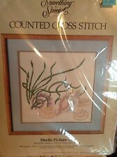 Counted Cross Stitch Kit Shell Picture by Something Special New in Package