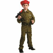 Israeli Soldier Fancy Roleplay Costume for Boys by Dress Up America