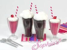 "Soda Fountain Set Milkshake Pretend Play for 18"" American Girl Dolls"