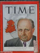 Time Magazine   July 13, 1953   East Germany's Walter Ulbricht   GREAT ADS