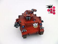 Warhammer 40k Blood Angels Baal Predator M-1 pro-painted