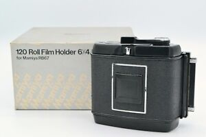 【EXC+5】 Mamiya RB67 6x4.5 645 120 Film Back for pro s SD in box From JAPAN