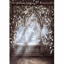 Fairy Tale European Flower Background Photography Photo Props Backdrop 5X7FT
