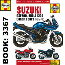 Suzuki GSF600 GSF650 GSF1200 Bandit Fours 1995-2006 Haynes Workshop Manual