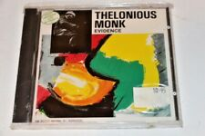 Thelonious Monk Evidence Live in France Import Cd NEW