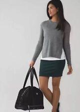 NWT Lululemon &go Cityfarer Skirt ~ Sz 2 ~ Dark Fuel DKFL Green