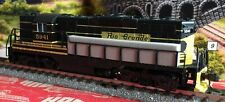 Atlas N' UP GP9 Rio Grande (Black/Aspen Gold) #5941 (NEW without box)