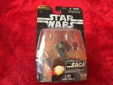 """Star Wars Figur Saga Collection """"C-3PO with Battle Droid Head"""" ovp versiegelt"""