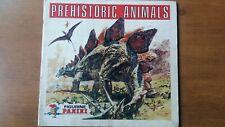 Figurine Panini Prehistoric Animals album with some stickers