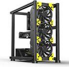 Veddha Grider Case V1D Plus Open Air Cooling Design Pc Gaming Desktop Case