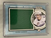 Glenn Gawdin 2014-2015 ITG Heroes & Prospects /60 Game Used Swatch Relic GUJ-05