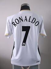 Cristiano Ronaldo #7 Manchester United Lejos Camiseta De Fútbol Jersey 2006/07 (M)
