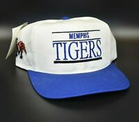 Memphis Tigers ANNCO Side Logo Split Bar Vintage 90's Snapback Cap Hat - NWT