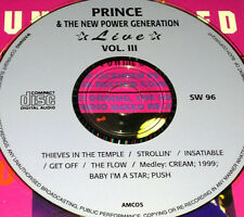 Prince & The New Power Generation Live Vol. 3 CD Strollin' Get Off Cream 1999