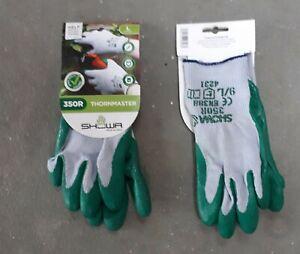 Showa Thornmaster 350R Outdoor Work and Garden Gloves - Free Postage