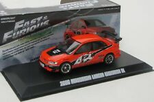 Mitsubishi Lancer Evo IX ( Fast and Furious ) Sean / orange / Greenlight 1:43