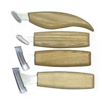 4pcs Woodworking Carving Knives Wood Chip Chisel Woodcarving Cutter Set Tool US