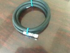 "1/2"" x 120"" 2 wire hydraulic hose assembly with a working PSI 5,000, 2 fem JIC 8"