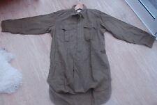 Original 1955 British Army Thick Wool Shirt Size 5