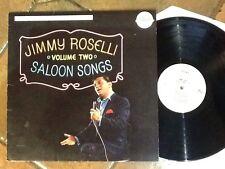 Rare Jimmy Roselli USA Vinyl Album Saloon Songs 1975 Free UK Post
