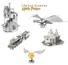 Harry Potter Miniatures Official Metal Earth 3D Models Laser Cut DIY Steel Kit