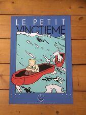 Serigraphie Hergé - Tintin