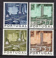 Portugal - 1970 Oil refinery Porto - Mi. 1095-98 MNH