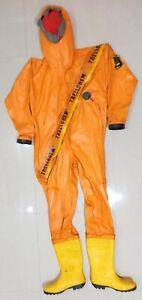 Trellchem BUTYL Gaz & Chimique Protection Suit Sécurité Suit (Taille:L)