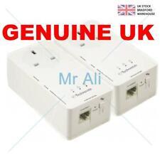 Technomate 1200 Mbps Gigabit HomePlug AV2 Powerline Adapter With Pass Through (c