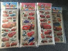 Disney Cars  sticker sheets party  supplies loot bags buy 5 get 5 free