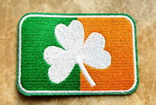 St. Patrick's day - three leaf clover - shamrock applique iron on patch
