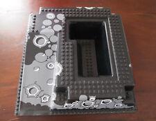 Lego : plaque noir 3D de construction, pour chateau de chevalier