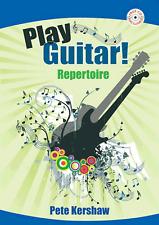 PLAY GUITAR REPERTOIRE PETE KERSHAW Easy Sheet Music Book & CD