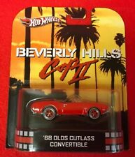 1:64 Hot Wheels Beverly Hill Cop II '68 Olds Cutlass Convertible Red