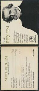 Verdi Requiem 1967 Live Performance Legendary Recordings 2 CD Set LRCD 1026-2