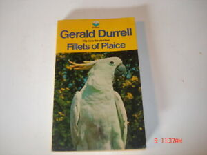 GERALD DURRELL 1971 FELLETS OF PLAICE PAPERBACK BOOK
