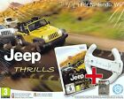 Nintendo Wii Bundle pack «JEEP THRILLS + VOLANT~WHEEL» nuovo import con italiano