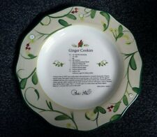 Paula Deen At Home Collector Plate Home for the Holidays Ginger Cookies