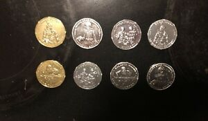 star wars 30th anniversary coin Lot (8 Total Coins)