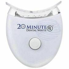 Sbiancante denti led trattamento gel tartaro sorriso 20 MINUTE DENTAL WHITE RX.