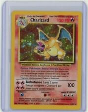 1999 Pokemon Italian Base Set CHARIZARD Holo 4/102 Rare