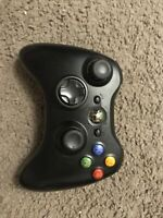 Microsoft Xbox 360 Wireless Remote Controller Black Official OEM No Battery Pack
