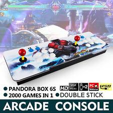 New Pandora Box 6s 2000 in 1 Retro Video Games Double Stick Arcade Console