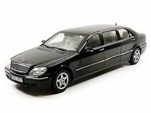 Sunstar 1/18 Scale 4111 - 2000 Mercedes Benz S 600 Pullman Limousine- Black
