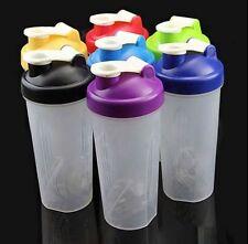 500ml BPA free Shake Protein Blender Shaker Mixer Cups Drink Whisk Ball Bottles
