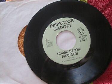 Inspector Gadget Curse Of The Pharaoh Label Peter Pan Vinyl 2021  7inch Single