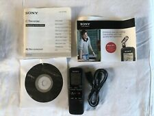 Sony Recorder ICD-PX312 Flash Digital Recorder Voice - 2 GB - Great Condition!!!