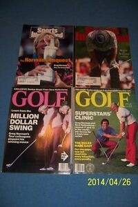 Sports Illustrated THE Masters GREG NORMAN Lot BRITISH OPEN Augusta THE MASTERS