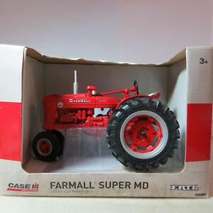 Ertl IH Farmall Super MD Tractor  1/16 IH-14867-1HB-B4